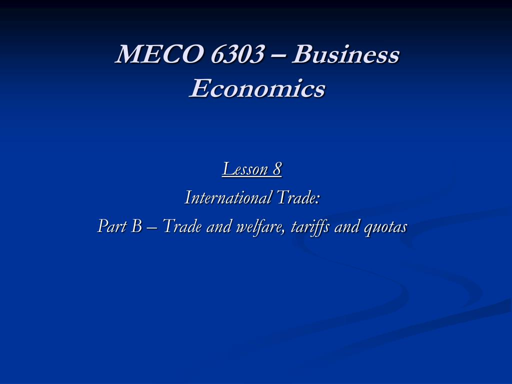 meco 6303 business economics l.