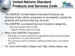 united nations standard products and services code
