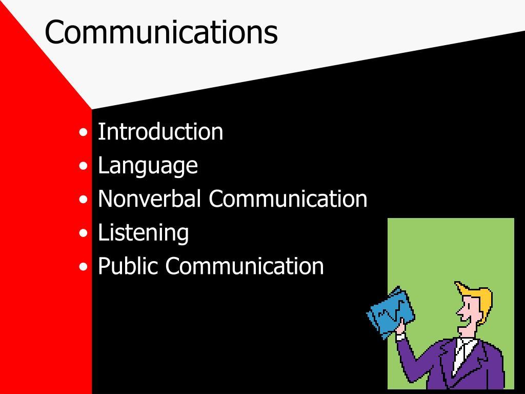 communications l.