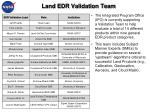 land edr validation team