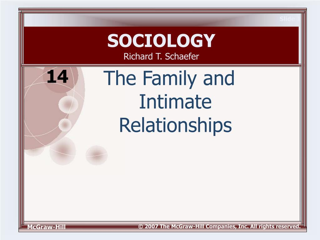 sociological view of divorce family