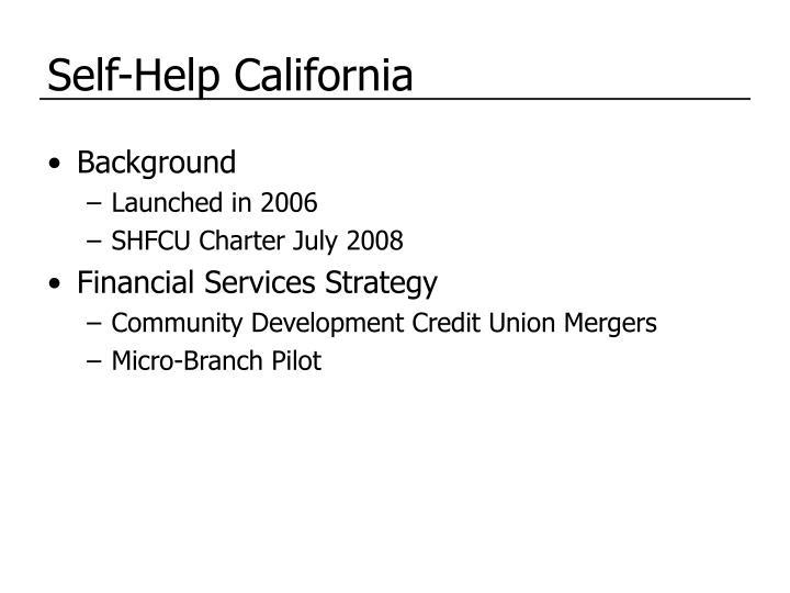 Self-Help California