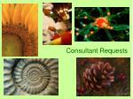 consultant requests