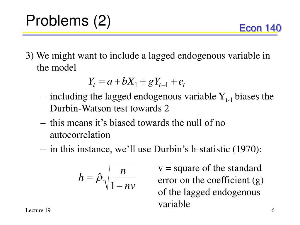 Problems (2)
