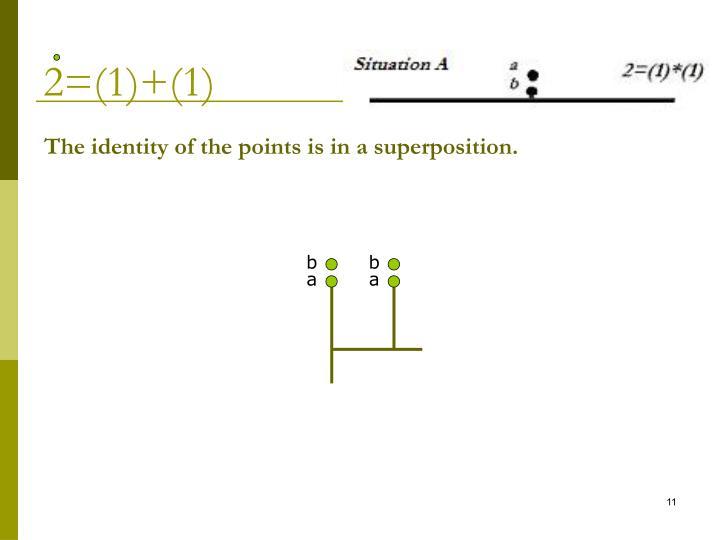 2=(1)+(1)