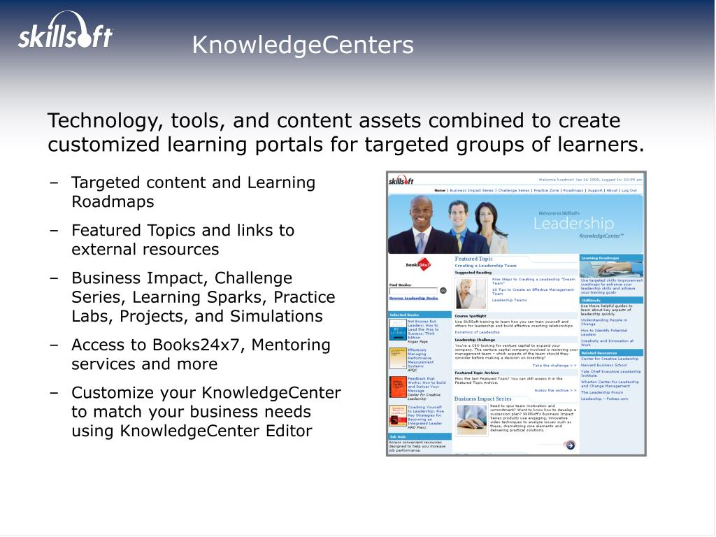 KnowledgeCenters