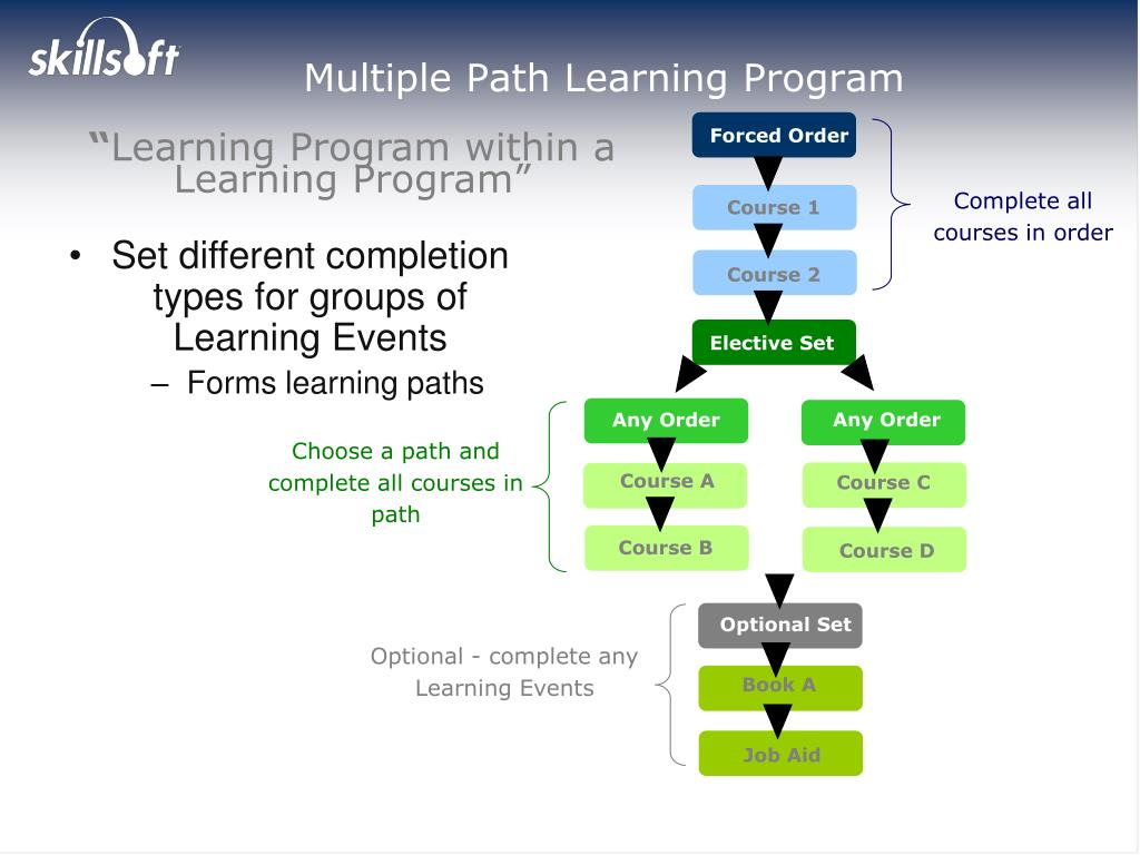 Multiple Path Learning Program