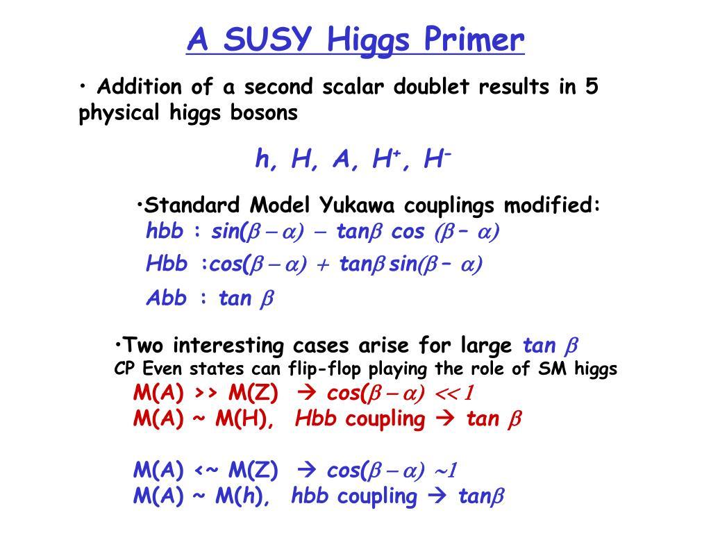 A SUSY Higgs Primer