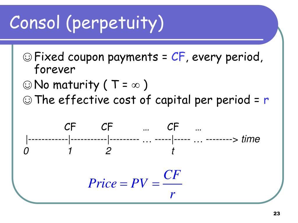 Consol (perpetuity)
