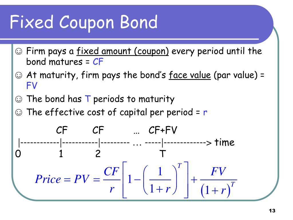 Fixed Coupon Bond