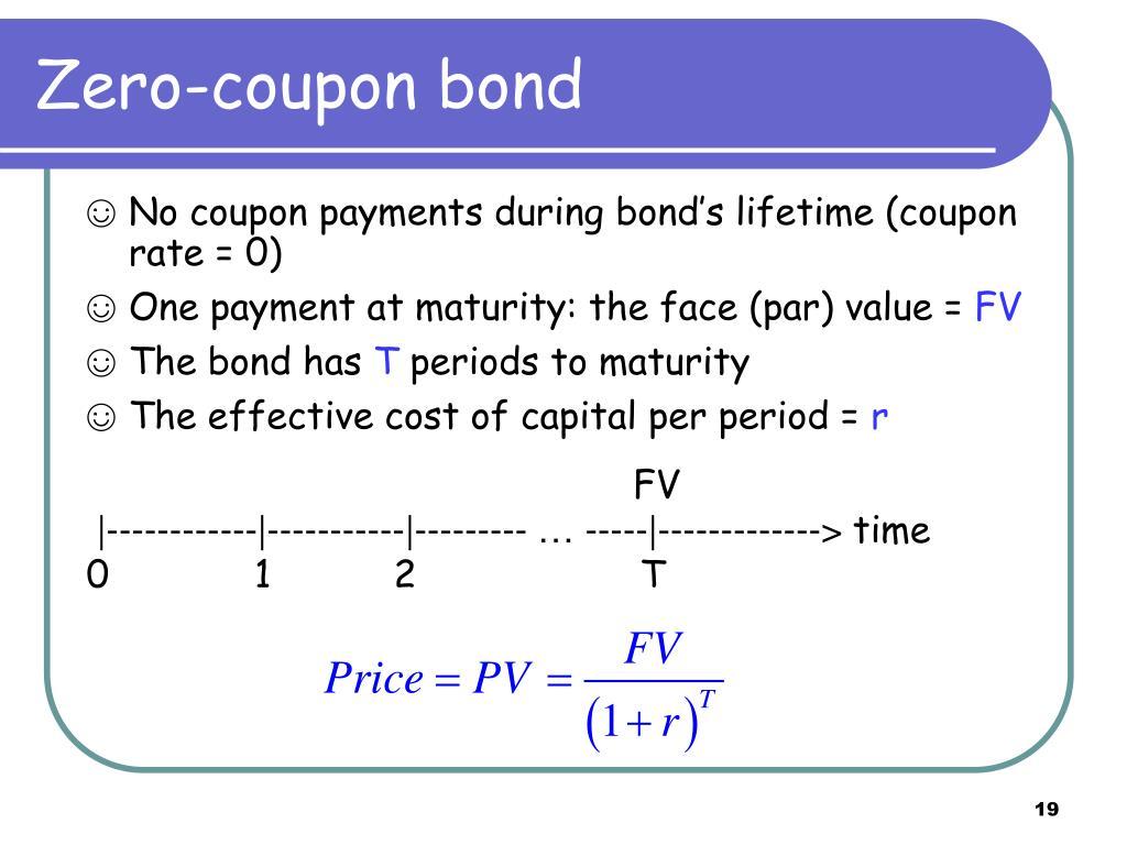 Zero-coupon bond