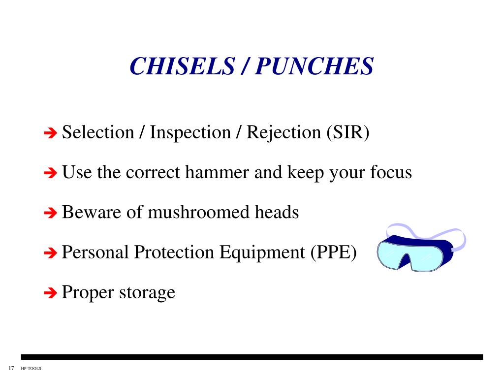 CHISELS / PUNCHES