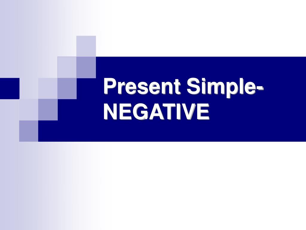 Present Simple-