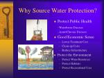 why source water protection