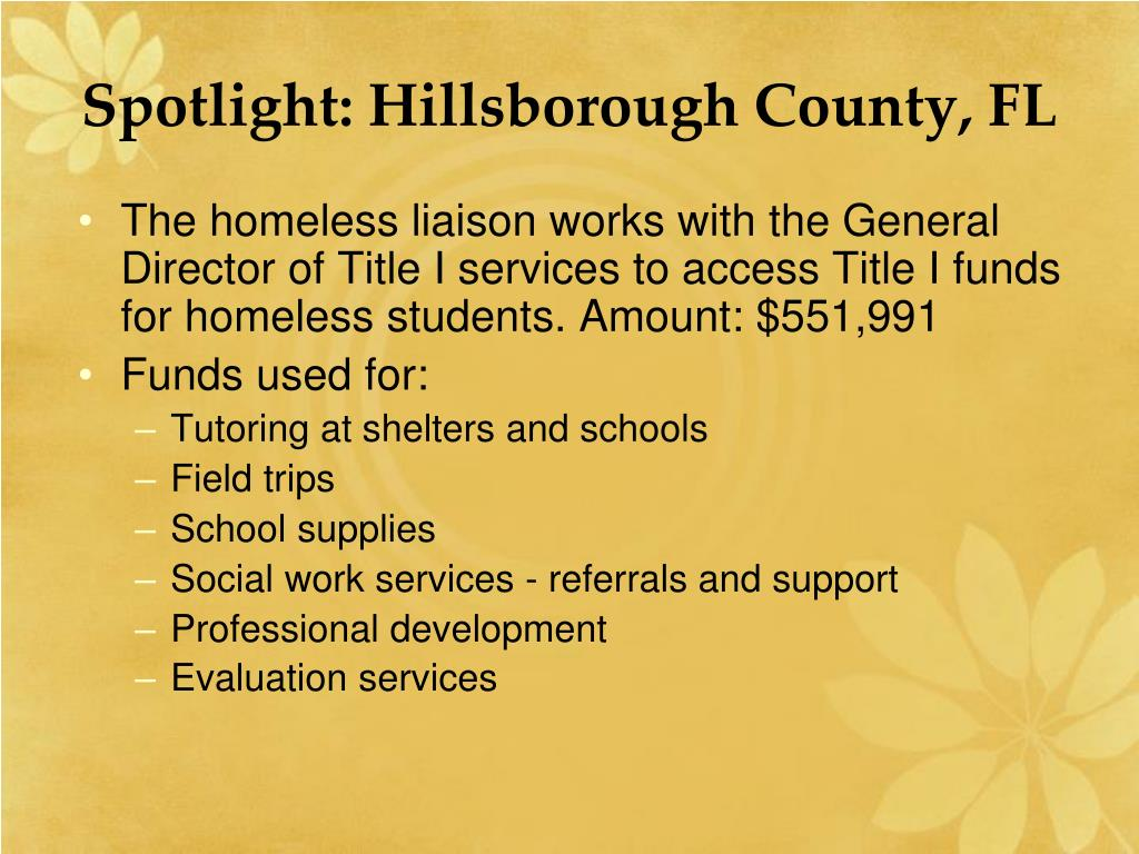Spotlight: Hillsborough County, FL