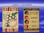 heath concerns