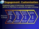 engagement customization