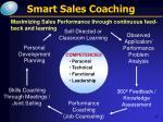 smart sales coaching