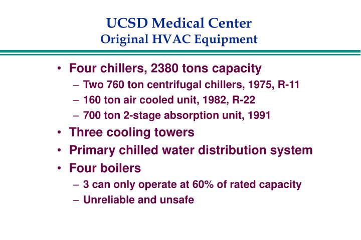 Ucsd medical center original hvac equipment