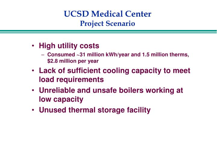 High utility costs