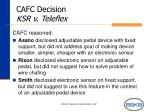 cafc decision ksr v teleflex