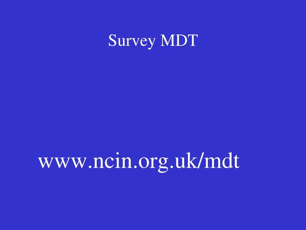 Survey MDT