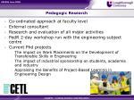 pedagogic research