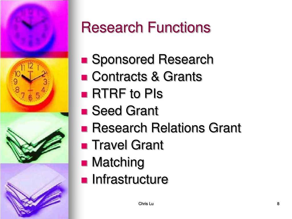 Research Functions