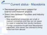 current status macedonia7