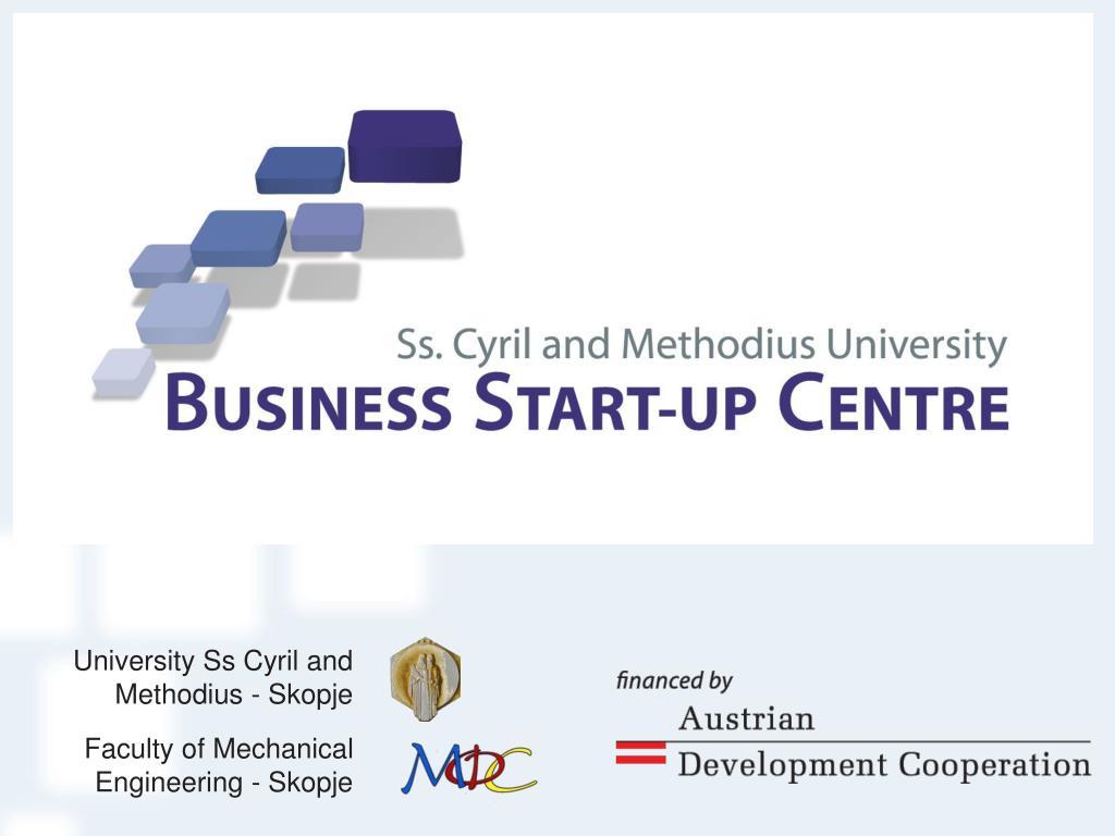 University Ss Cyril and Methodius - Skopje