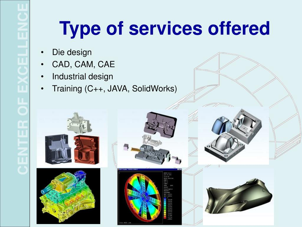 Type of services offered