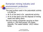 romanian mining industry and environment protection11
