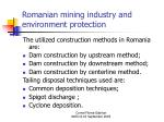 romanian mining industry and environment protection13
