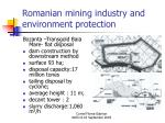 romanian mining industry and environment protection16