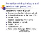 romanian mining industry and environment protection18