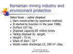 romanian mining industry and environment protection19