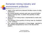 romanian mining industry and environment protection2