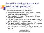 romanian mining industry and environment protection23