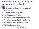 romanian mining industry and environment protection4