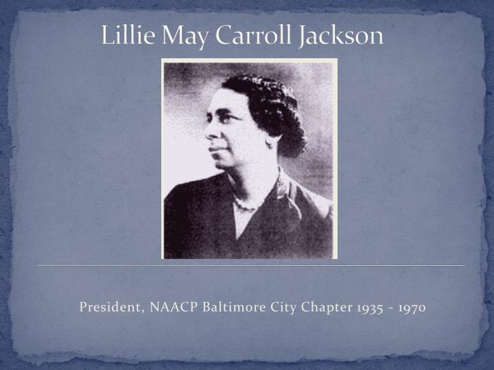 Lillie May Carroll Jackson