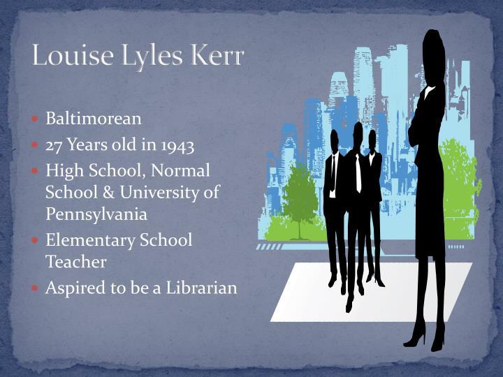 Louise Lyles Kerr