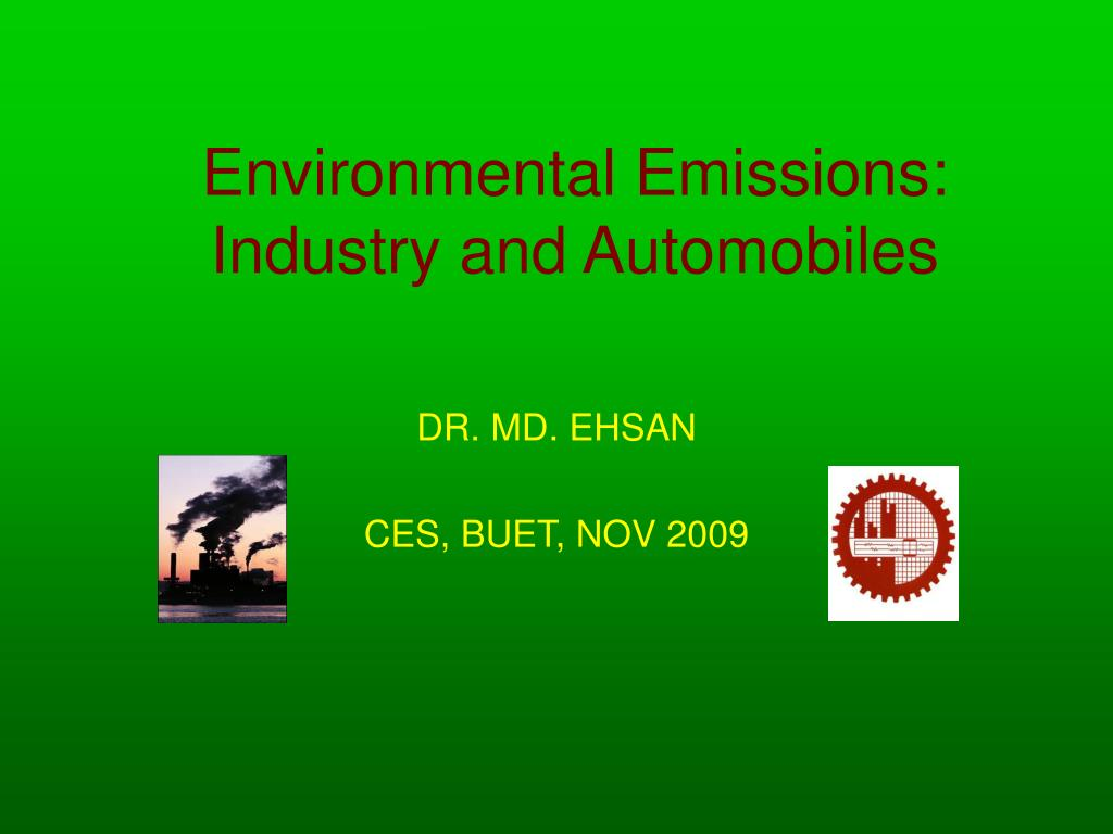 environmental emissions industry and automobiles l.