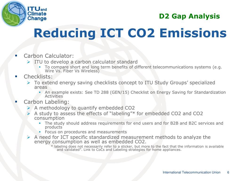 D2 Gap Analysis