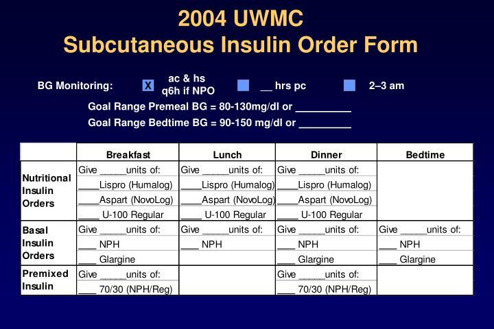 2004 UWMC