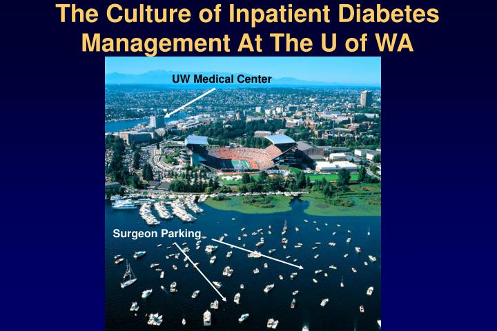The Culture of Inpatient Diabetes Management At The U of WA