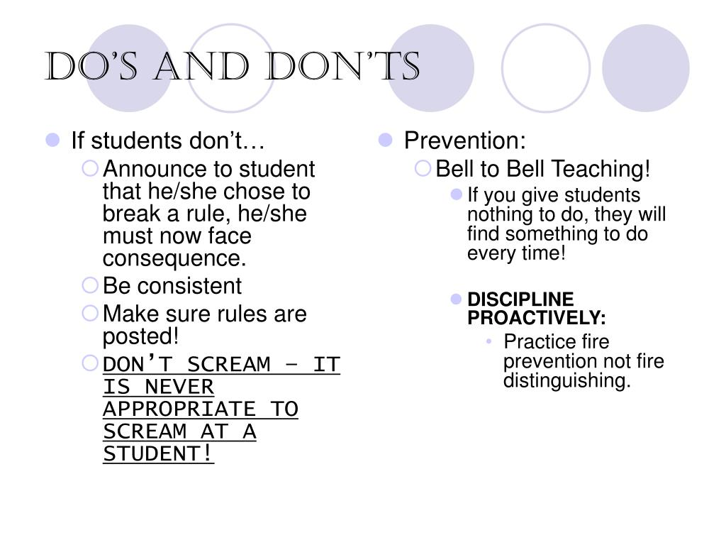If students don't…