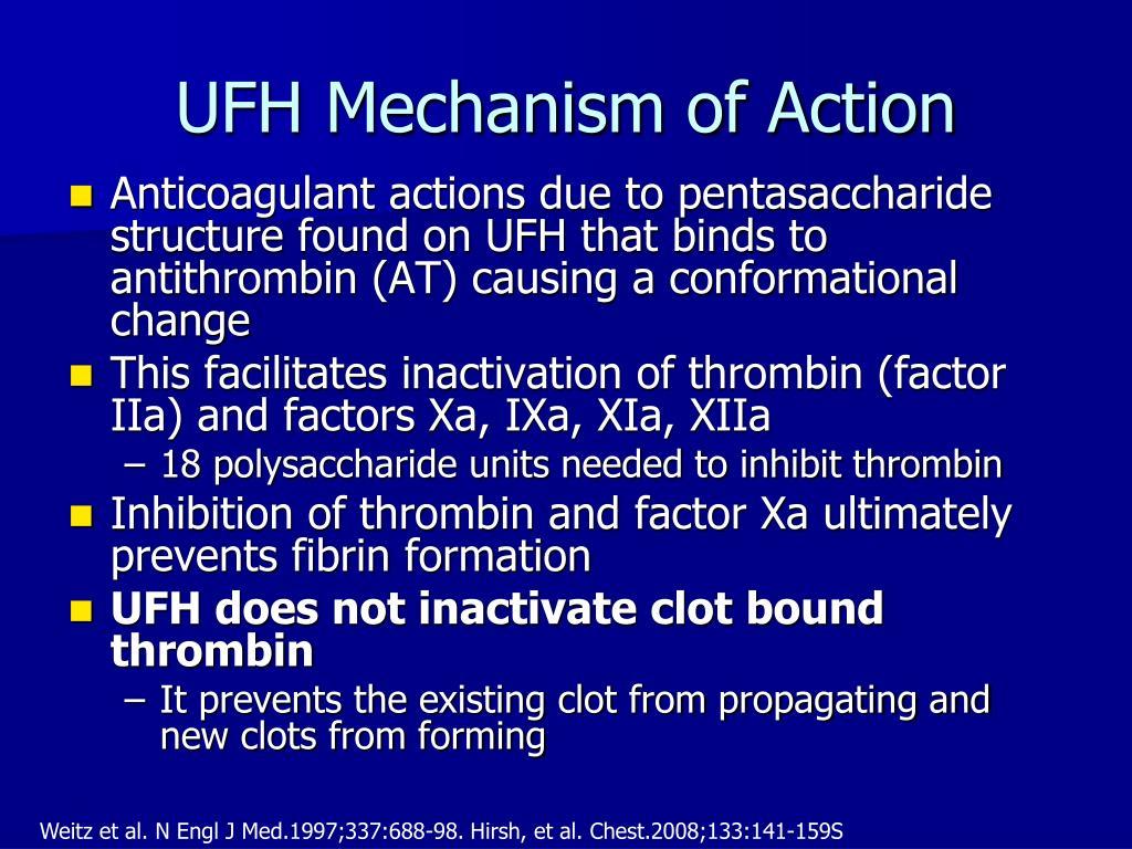 UFH Mechanism of Action