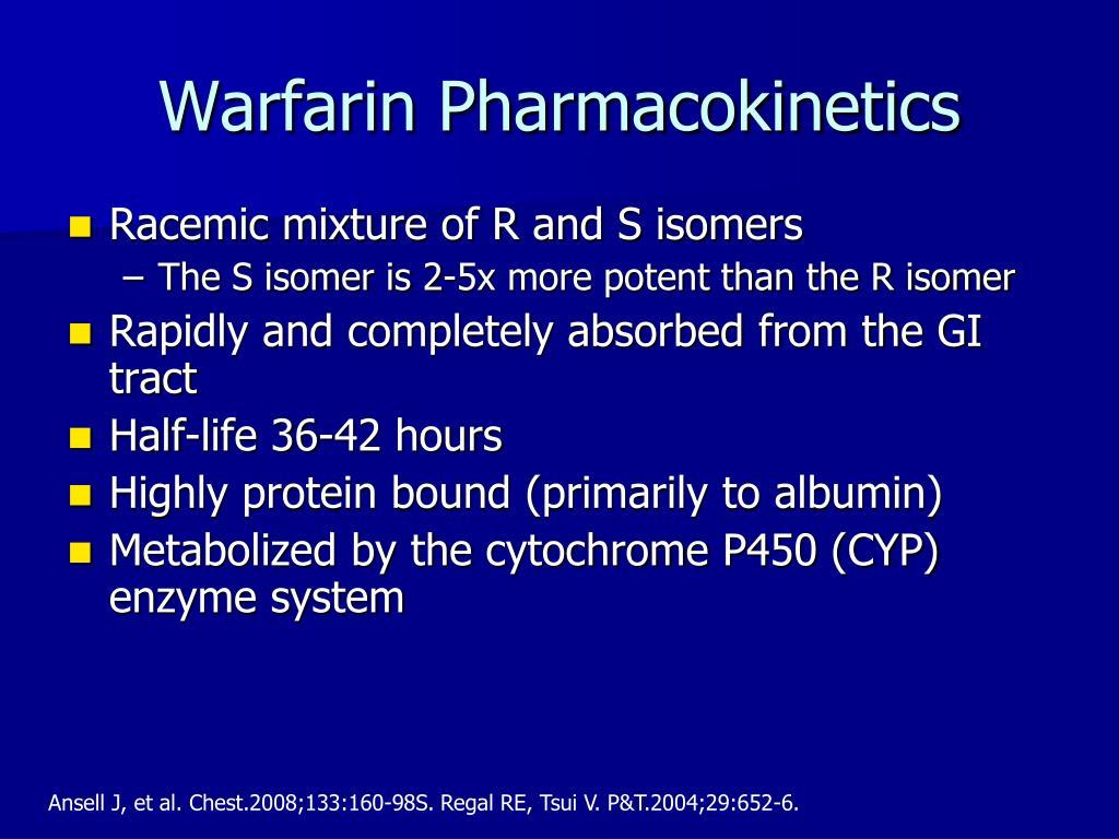 Warfarin Pharmacokinetics