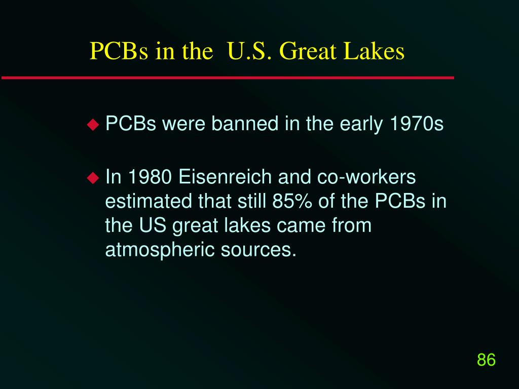 PCBs in the  U.S. Great Lakes