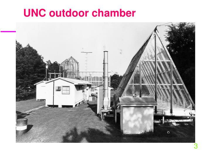 UNC outdoor chamber